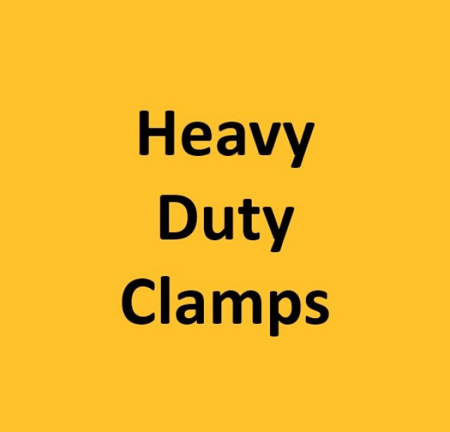 Heavy Duty Clamps